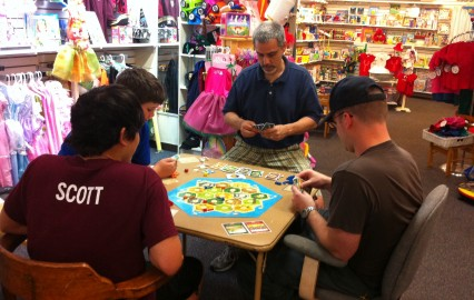 Settlers of Catan at G.Willikers!
